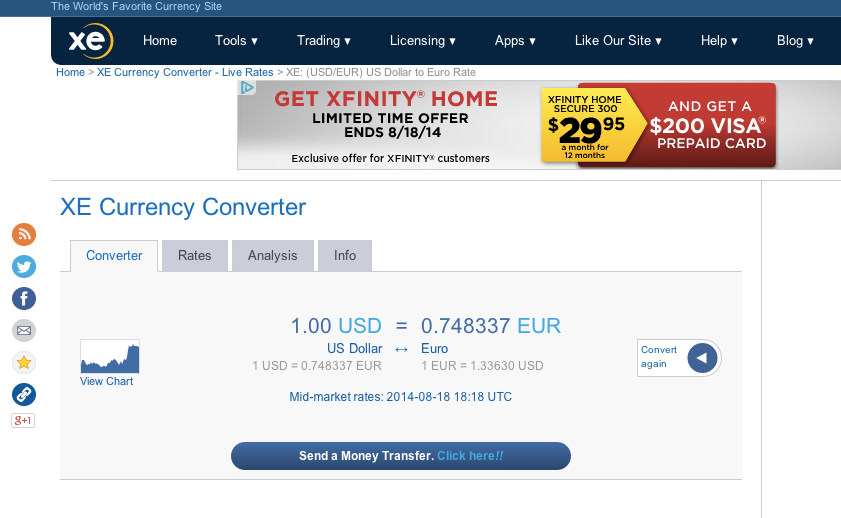 Xe Currency Converter >> Sikuli Slides